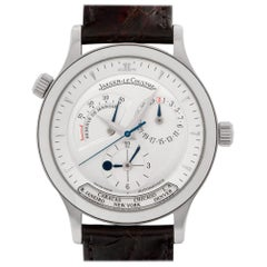 Jaeger-LeCoultre Master Control 142.8.29 Stainless Steel Silver Dial