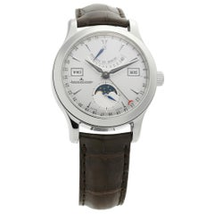 Jaeger LeCoultre Master Control 151.84.2A, Silver Dial, Certified
