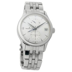 Jaeger LeCoultre Master Control 162.81.30, Silver Dial, Certified