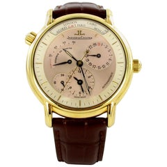 Jaeger-LeCoultre Master Control Geographic Chronograph Gold Ref. 169.1.92