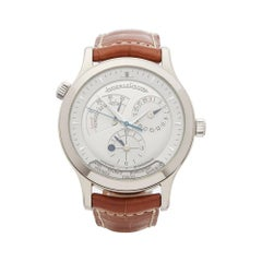 Jaeger-LeCoultre Master Control Geographic Stainless Steel Men's 142392