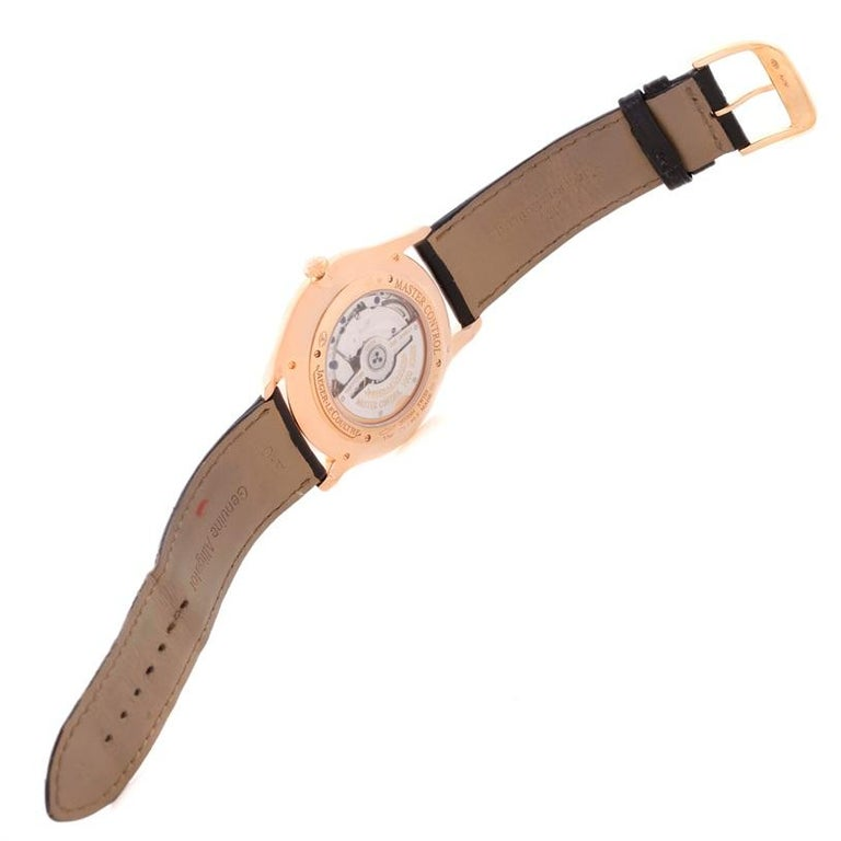 Jaeger-LeCoultre Master Control Rose Gold Diamond Watch Q1352502 For Sale 4