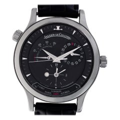 Jaeger LeCoultre Master Geographic 142.8.92, Black Dial