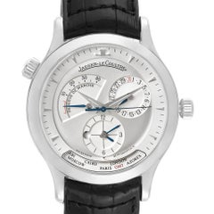 Jaeger-LeCoultre Master Geographic Steel Men's Watch 142.8.92