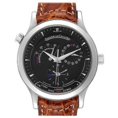 Jaeger-Lecoultre Master Geographic Steel Men's Watch 142.8.92.S Q1428470