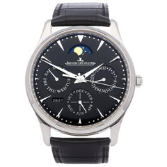 Jaeger-LeCoultre Master Ultra Thin Perpetual 130.84.70 Men Stainless Steel 0 Wat