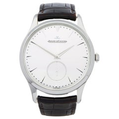 Jaeger-LeCoultre Master Ultra Thin Q1358420 Men's Stainless Steel Small Seconds
