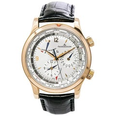 Jaeger LeCoultre Master World Geographic 146.2.32.S, Black Dial