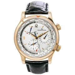 Jaeger-LeCoultre Master World Geographic 146.2.32.S, Silver Dial