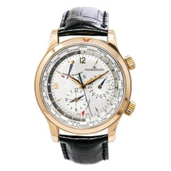 Jaeger LeCoultre Master World Geographic 146.2.32.S, Silver Dial