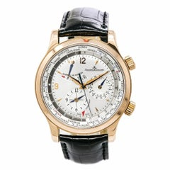 Jaeger-LeCoultre Master World Geographic19200, Black Dial Certified