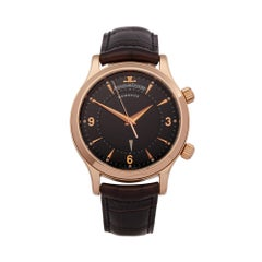 Jaeger-LeCoultre Memovox 18K Rose Gold 144.2.94.5 Wristwatch