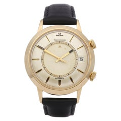 Jaeger-LeCoultre Memovox 34290 Men's Gold-Plated Watch