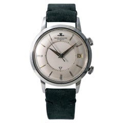 Jaeger-LeCoultre Memovox K825, Silver Dial, Certified and Warranty