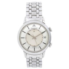 Jaeger-LeCoultre Stainless Steel Memovox Automatic Wristwatch