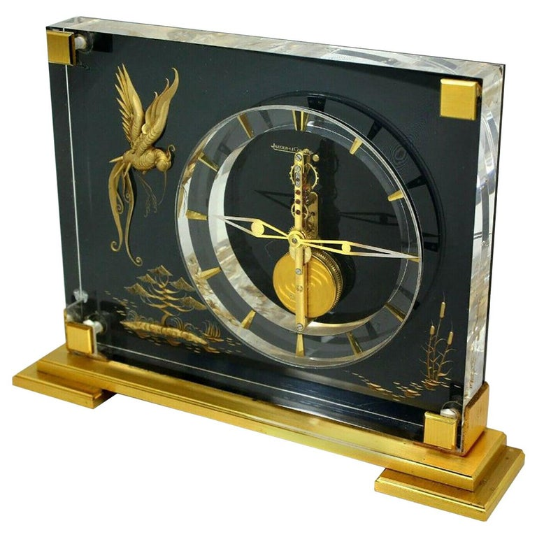 """Jaeger-Lecoultre Model Marina Clock"", Switzerland, 1960s For Sale"