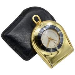 Jaeger Lecoultre Pocket Traveler Watch Memovox Alarm Mecanic