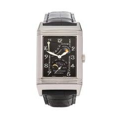 Jaeger LeCoultre Reverso 18 Karat White Gold 270363 Wristwatch