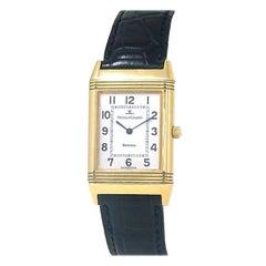 Jaeger-LeCoultre Reverso 18 Karat Yellow Gold Women's Watch Manual 250.1.86
