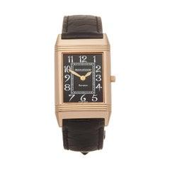 Jaeger-LeCoultre Reverso 18 Karat Rose Gold 250.2.86 Wristwatch