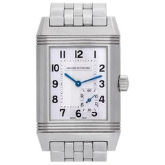 Jaeger LeCoultre Reverso 240.8.14, Silver Dial, Certified and Warranty
