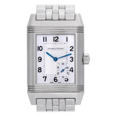 Jaeger LeCoultre Reverso 240.8.14, Silver Dial, Certified