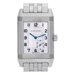 Jaeger-LeCoultre Reverso 240.8.14, Silver Dial, Certified
