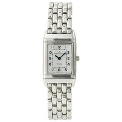 Jaeger-LeCoultre Reverso 260.8.08, Silver Dial, Certified