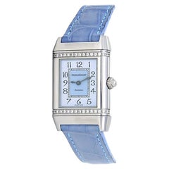 Jaeger LeCoultre Reverso 265.8.08, Blue Dial, Certified &