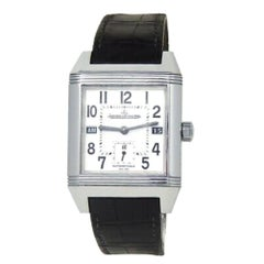 Jaeger LeCoultre Reverso 265.8.08, White Dial, Certified