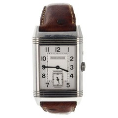 Jaeger LeCoultre Reverso 270.8.54, Silver Dial, Certified and Warranty