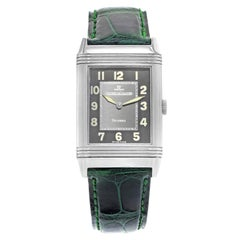 Jaeger-LeCoultre Reverso 271.8.61 Shadow Dial Steel Manual Wind Men's Watch