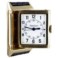 Jaeger-LeCoultre Reverso, Art Deco, 9 Carat Gold, 1938