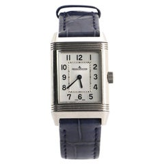 Jaeger-LeCoultre Reverso Classic Manual Watch Stainless Steel and Alligat
