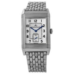 Jaeger LeCoultre Reverso Classic Steel Watch 270.8.62