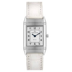 Jaeger-LeCoultre Reverso Classique Silver Dial Watch 260.8.08 Box Papers