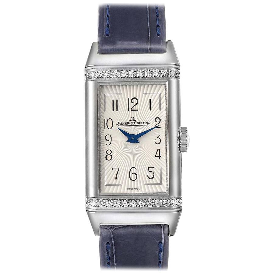 Jaeger LeCoultre Reverso Diamond Ladies Watch 201.8.47 Q3288420 Unworn