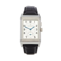 Jaeger-LeCoultre Reverso Night and Day Stainless Steel 278.8.54