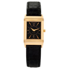 Jaeger-LeCoultre Reverso Pink Gold Wristwatch
