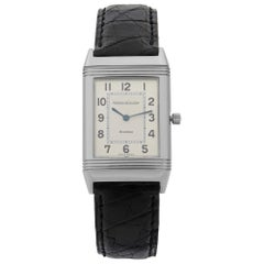 Jaeger-LeCoultre Reverso Steel Silver Dial Manual Wind Unisex Watch 250.8.86