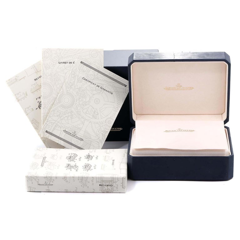 Jaeger LeCoultre Reverso Sun Moon Rose Gold Watch 270.2.63 Q3042420 For Sale 5