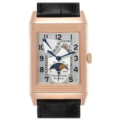 Jaeger LeCoultre Reverso Sun Moon Rose Gold Watch 270.2.63 Q3042420