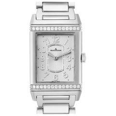 Jaeger LeCoultre Reverso Ultra Thin Diamond Ladies Watch 268.8.86 Q3208121