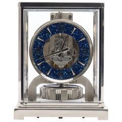 Jaeger-LeCoultre Rhodium-Plated Royale Atmos Clock, circa 1974
