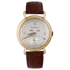 Jaeger LeCoultre Triple Date Calendar Men's Watch