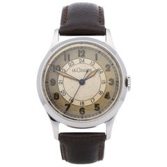 Jaeger-LeCoultre Vintage 450/3A Men's Stainless Steel Watch