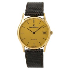Jaeger LeCoultre Vintage Collection 5001.21, Gold Dial, Certified