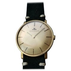 Jaeger-LeCoultre Vintage Men's 18K Gold Hand-Wind Dress Watch, C.1960s LV848BLK