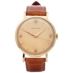 Jaeger-LeCoultre Vintage P450/4C Men's Yellow Gold Watch