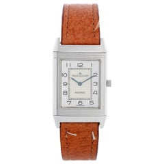 Jaeger Reverso Silver Dial Mens Watch 2500.8.86
